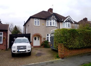 Thumbnail 3 bed semi-detached house for sale in Kinross Avenue, Worcester Park