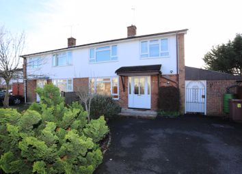Thumbnail 3 bedroom semi-detached house for sale in Wheble Drive, Woodley, Reading