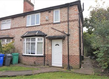 3 bed semi-detached house for sale in Heyscroft Road, Manchester M20