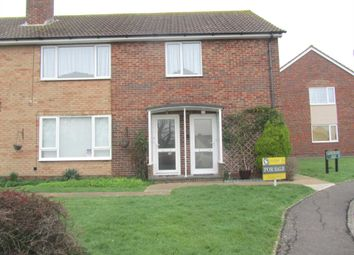 Thumbnail 2 bed maisonette for sale in Willingdon Court, The Triangle, Willingdon, Eastbourne