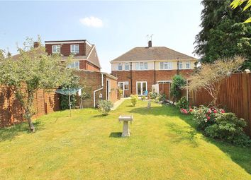 Thumbnail 3 bed semi-detached house for sale in Hogarth Avenue, Ashford, Middlesex