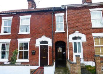 Thumbnail 4 bedroom terraced house to rent in Warwick Street, Norwich