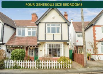 Thumbnail 4 bed semi-detached house for sale in Stoughton Road, Oadby, Leicester