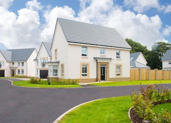 "Thumbnail 4 bed detached house for sale in ""Brunston"" at Glassford Road, Strathaven"