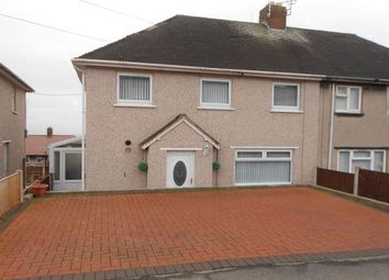 Thumbnail 3 bed semi-detached house for sale in Cheshire View, Brymbo, Wrexham