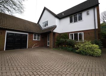 Thumbnail 4 bed detached house to rent in Heath Lane, Hertford Heath, Hertford