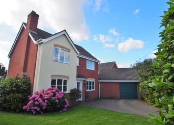 Thumbnail 4 bed detached house for sale in Mallow Way, Wymondham