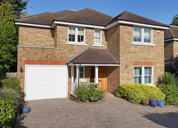 Thumbnail 5 bed detached house for sale in The Ridings, Cobham, Surrey