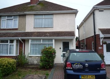 Thumbnail 2 bed semi-detached house to rent in Ashby Road, Southampton