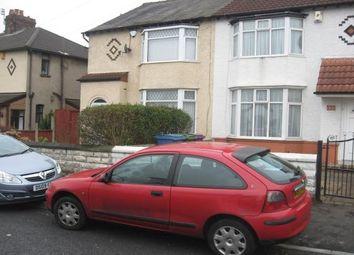 Thumbnail 3 bed semi-detached house to rent in Lingfield Road, Broadgreen L14 3La