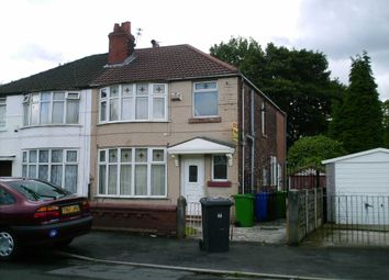 Thumbnail 4 bedroom semi-detached house to rent in Delacourt Road, Manchester