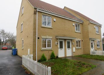Thumbnail 3 bedroom end terrace house for sale in Chapel Road, Carlton Colville, Lowestoft