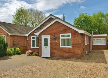 Thumbnail 2 bedroom detached bungalow for sale in Freyden Way, Frettenham, Norwich