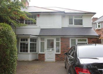 Thumbnail 6 bed semi-detached house to rent in Poole Crescent, Birmingham