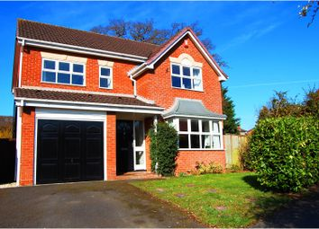 Thumbnail 4 bed detached house for sale in Kirkwood Court, Shrewsbury