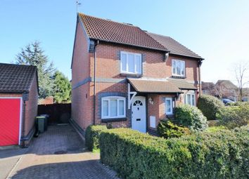 Thumbnail 2 bed semi-detached house to rent in Langham Drive, Rayleigh, Essex