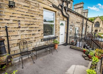 Thumbnail 2 bed maisonette for sale in Peel Street, Marsden, Huddersfield