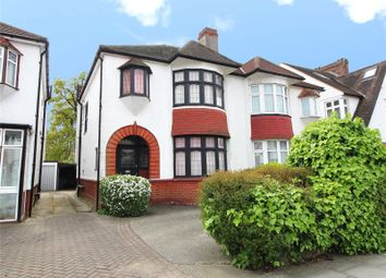 Thumbnail 3 bedroom semi-detached house for sale in Burleigh Gardens, Southgate