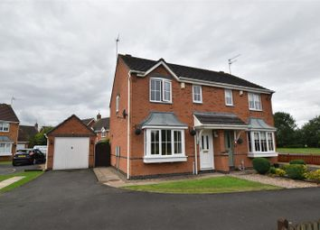Thumbnail 3 bed semi-detached house for sale in Showell Green, Droitwich