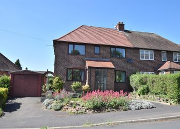 Thumbnail 3 bed semi-detached house for sale in Lime Avenue, Breadsall, Derby