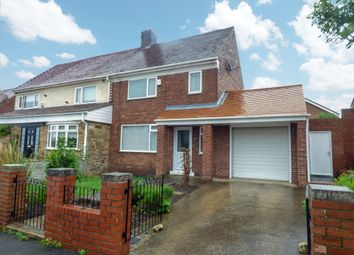 Thumbnail 2 bed semi-detached house for sale in Maple Avenue, New Silksworth, Sunderland
