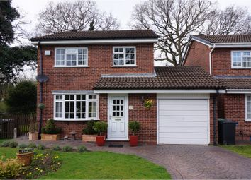 Thumbnail 3 bed detached house for sale in Cranham Close, Redditch