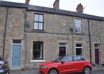 Thumbnail 2 bed terraced house for sale in Garden Terrace, Hexham, Northumberland.