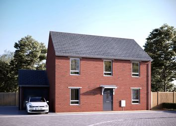 "Thumbnail 3 bed terraced house for sale in ""The Belstone"" at Tithe Barn Lane, Exeter"