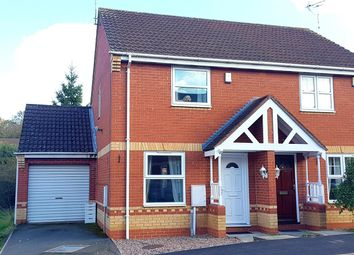Thumbnail 2 bed semi-detached house for sale in Woodgate Drive, Chellaston, Derby