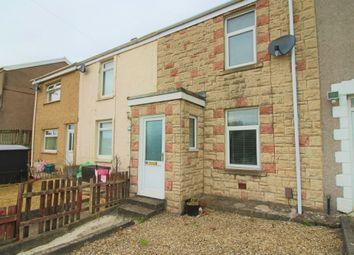 Thumbnail 2 bed terraced house for sale in Dinas Street, Plasmarl, Swansea