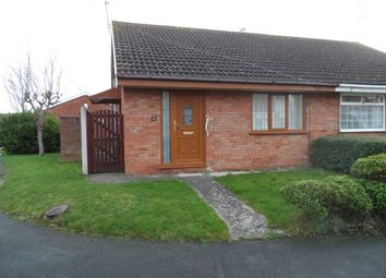 Thumbnail 2 bed semi-detached bungalow to rent in Lon Ceiriog, Prestatyn