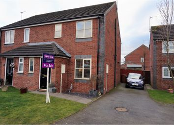 Thumbnail 3 bed semi-detached house for sale in Maynard Close, Bagworth
