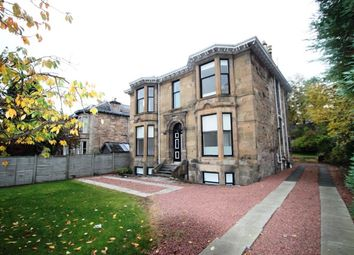 Thumbnail 2 bed flat to rent in Kirklee Road, Glasgow