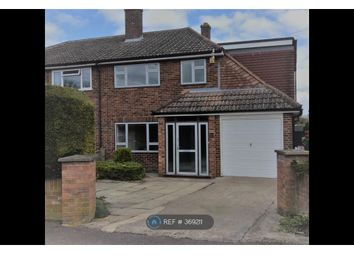 Thumbnail 4 bed semi-detached house to rent in Blenheim Close, Didcot