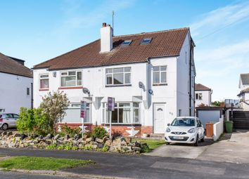 Thumbnail 4 bedroom semi-detached house for sale in Buckstone Oval, Leeds