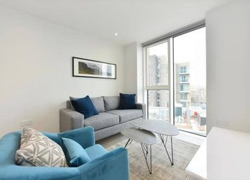 Thumbnail 1 bed flat for sale in Skylark Point, 48 Newnton Chase, London