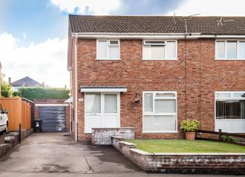 Thumbnail 3 bed semi-detached house for sale in Beaufort Drive, Lydney