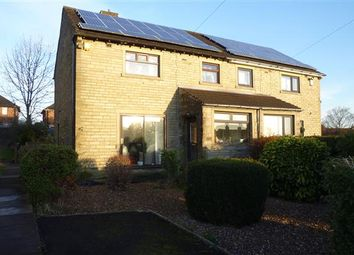 Thumbnail 3 bedroom semi-detached house for sale in Holmfield Drive, Golcar, Huddersfield