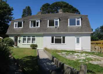 Thumbnail 3 bed semi-detached house for sale in Boslowick Close, Falmouth