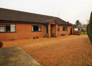 Thumbnail 4 bed detached bungalow for sale in Coates Road, Whittlesey, Peterborough