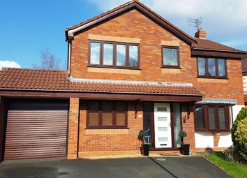 Thumbnail 4 bed detached house for sale in Wedgwood Close, Wolverhampton
