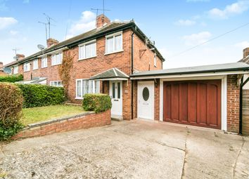 Thumbnail 3 bed end terrace house to rent in Thirlmere Avenue, Tilehurst, Reading