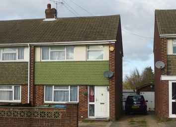 Thumbnail 3 bed semi-detached house for sale in Butts Road, Southampton