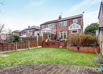 Thumbnail 3 bed semi-detached house for sale in Douglas Road, Worsley, Manchester