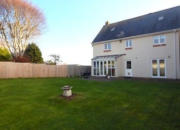 Thumbnail 5 bedroom detached house for sale in Burrows Close, Southgate, Swansea, West Glamorgan.