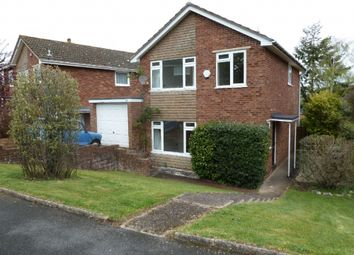 Thumbnail 3 bed detached house to rent in Armstrong Avenue, Exeter