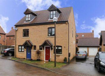 Thumbnail 3 bedroom semi-detached house for sale in Berrington Grove, Westcroft, Milton Keynes