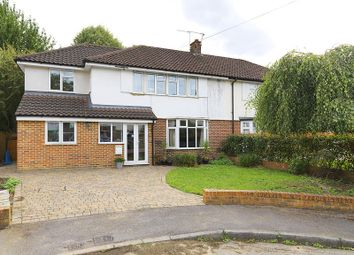 Thumbnail 5 bed semi-detached house for sale in Macaulay Avenue, Hinchley Wood