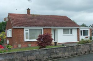 Thumbnail 2 bed detached bungalow for sale in Kirkland Road, Heathhall, Dumfries