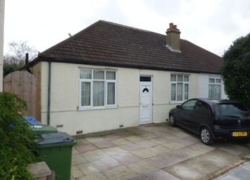 Thumbnail 3 bed semi-detached bungalow for sale in Blanmerle Road, London
